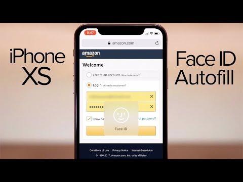 How to use Face ID Safari Autofill on iPhone X!