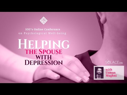 Solace 2016: Helping the Spouse with Depression by Brother Usman Mughni