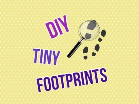 👟DIY Tiny Footprints👟
