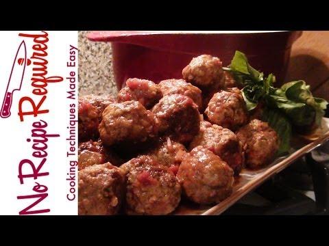 Meatballs - NoRecipeRequired.com