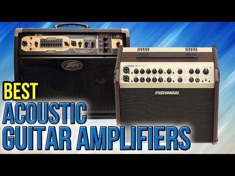 7 Best Acoustic Guitar Amplifiers 2017