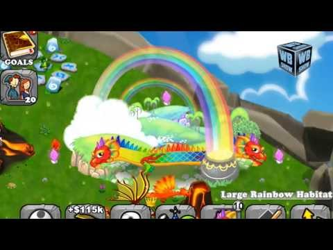 How to breed Double Rainbow Dragon 100% Real! DragonVale! [EXPLAINED]!