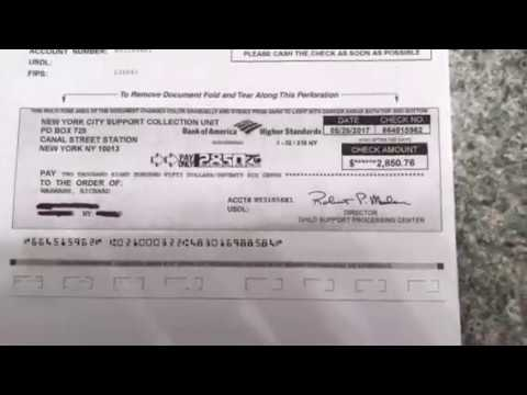 PROOF OF CHILD SUPPORT REFUND!!!
