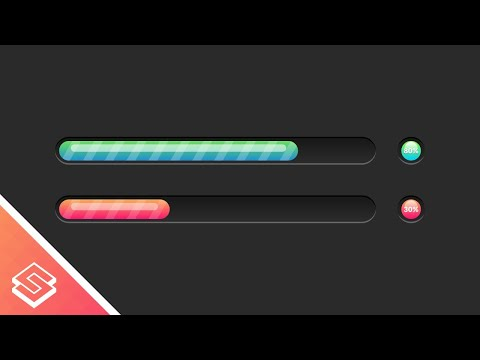 Design a progress bar using HTML, CSS and JavaScript