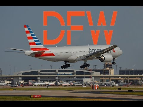 PLANE-SPOTTING: Windy in the Dallas/Fort Worth International Airport (DFW/KDFW)