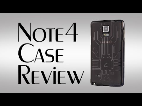 Note 4 Case Review ~  Cruzerlite Bugdroid Circuit Case