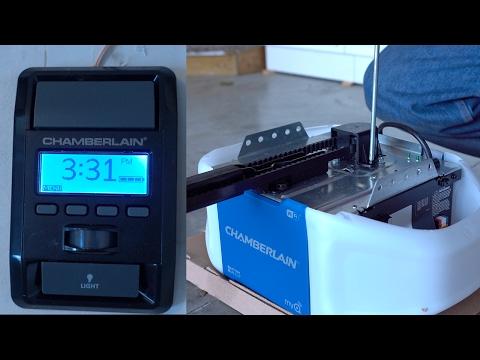 Chamberlain Wifi Garage Door Opener Install