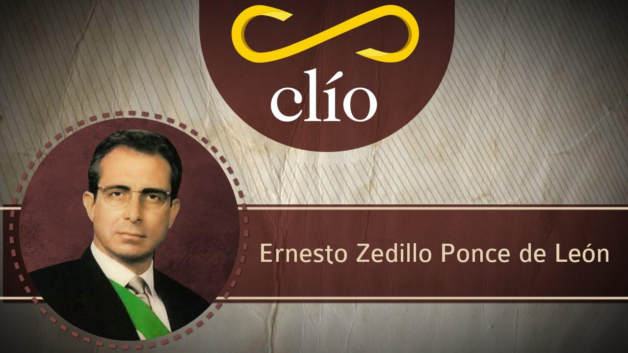Minibiografía: Ernesto Zedillo