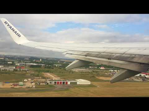 Take off from Beauvais Airport (Paris)