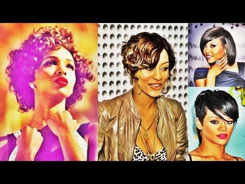 Pretty Short Bob Haircuts for Black Women Short Afro Hairstyles 2017