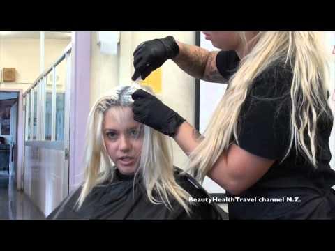 HAIRCOLOR;  Blonde Hair Lightener, Bleach, Brightener Retouch