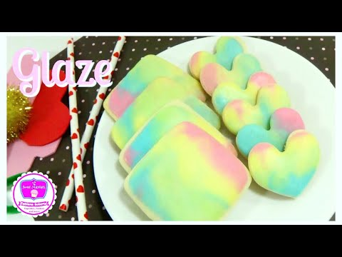 Simple Glaze for Cookies | Glaze | Sweet Maniacs 💜
