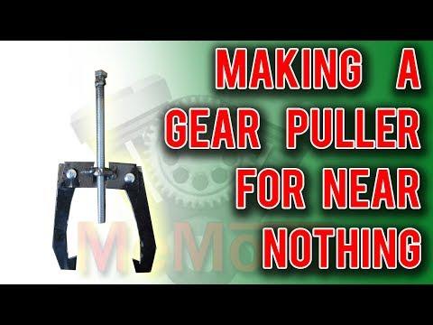 Easy gear puller build cheap