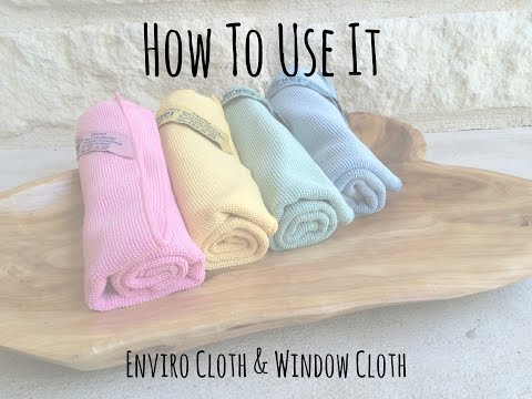 How To Use It--Enviro Cloth & WIndow Cloth