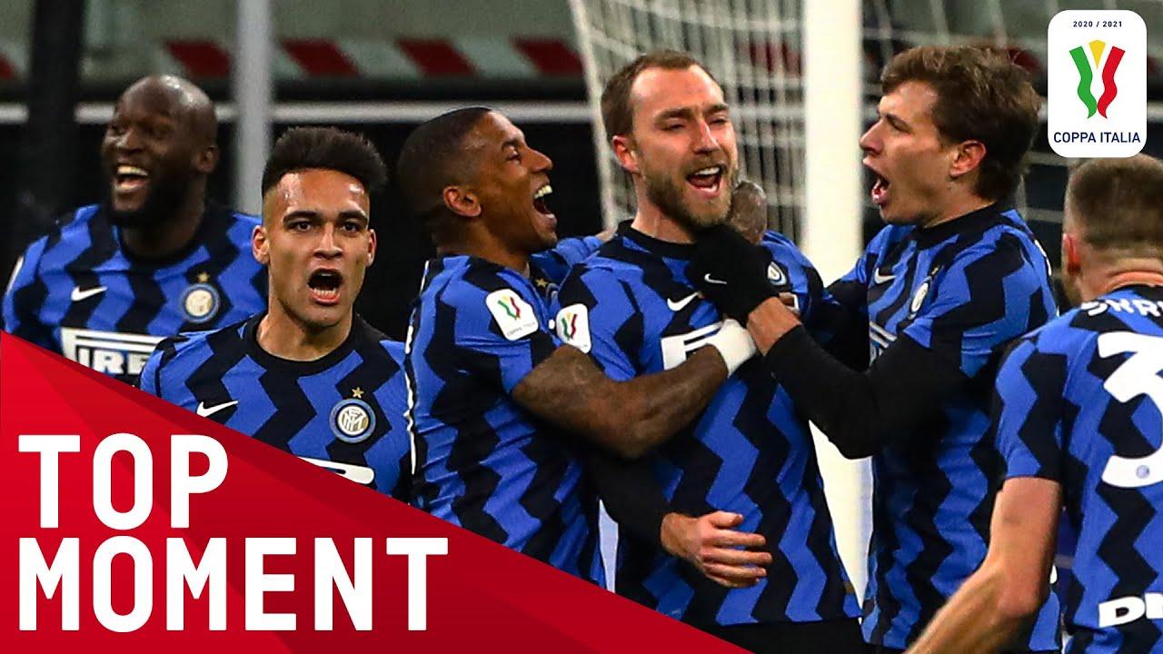 Eriksen Scores 97th Minute Free-Kick Winner!   Inter 2-1 Milan   Top Moments   Coppa Italia 2020/21