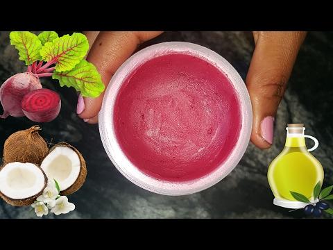 Get Soft,Pink and Attractive lips|Natural Lip Balm HomeMade