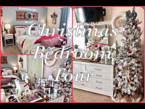 🎄 Christmas Bedroom Tour 2017
