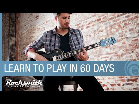 Rocksmith 2014 Edition -- How It Works -- Learn How To Play Guitar In 60 Days