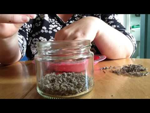 What I do with dried lavender