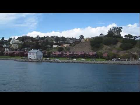 Angel Island State Park to Tiburon Blue & Gold Harbor Emperor Ferry San Francisco Bay California