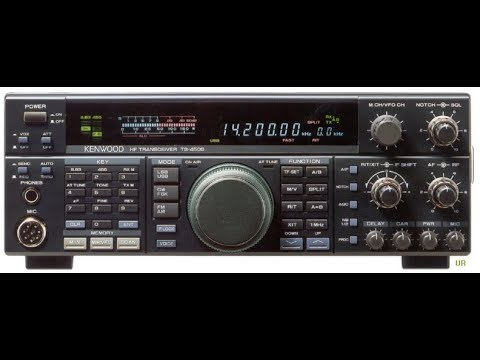 Kenwood TS 450S Using a friend's rig
