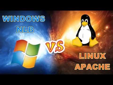 Windows NLB vs Linux APACHE (Clustering/Virtual IP)