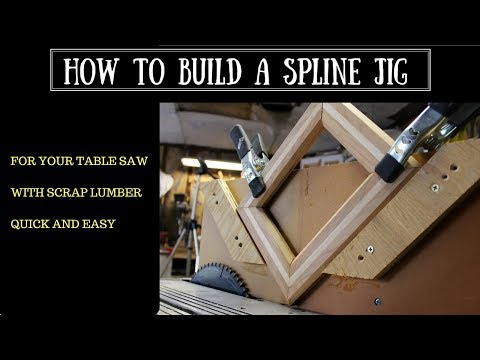 HOW TO BUILD A SIMPLE SPLINE JIG