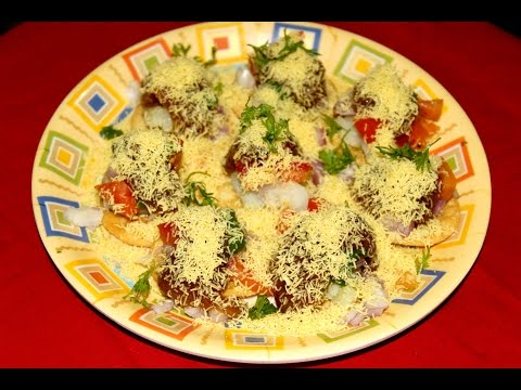 Sev Puri/Sev Batata Puri/सेव  पुरी/शेव बटाटा पुरी/Popular Mumbai Street food/Chaat Recipe/Easy&Quick