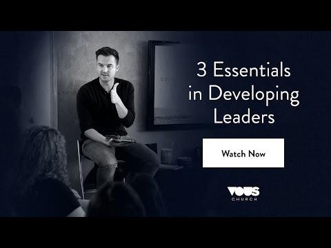 Rich Wilkerson Jr. — 3 Essentials in Developing Leaders