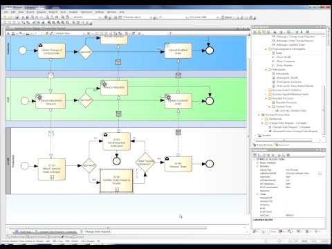 Business Process Modeling Notation with Enterprise Architect