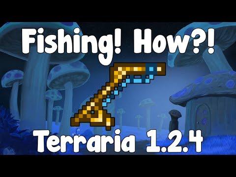 Fishing , How to Start?! - Terraria Guide - GullofDoom