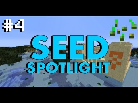 Minecraft 1.7.4 Seed Spotlight: PYRAMID IN SWAMP BIOME! #4