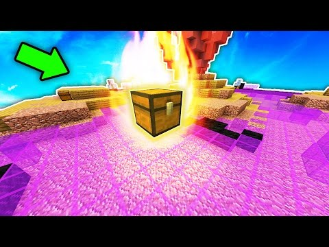 OVERPOWERED TRICK TO GET FREE ITEMS...! (Minecraft Skybounds!)