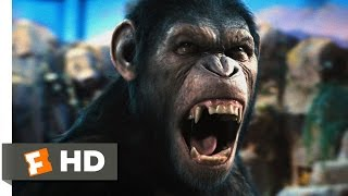 Rise of the Planet of the Apes (1/5) Movie CLIP - Caesar Speaks (2011) HD