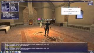 Ffxi Simple Mog House Demo [ Final Fantasy Xi Windower Mog House Auto Gear Swapper ]