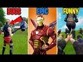 Download Noobs Worship the Booty in Fortnite - BUGS vs EPIC vs FUNNY! Fortnite Funny Moments 289 MP3,3GP,MP4