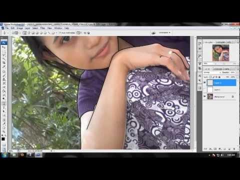 How To Make Cartoon Effect Photoshop Cs3.flv