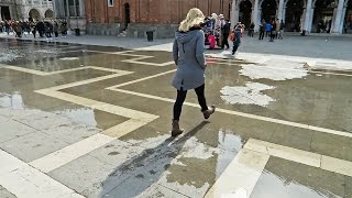 VENICE, ITALY • Venice is SINKING! Get there before it