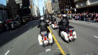 Vancouver Police Motorcycle Drill Team