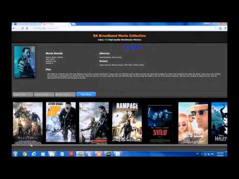 Movie Server Using PHP/MySQL