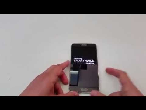 Reset Samsung Galaxy Note 3 N9005 (Hard Reset)