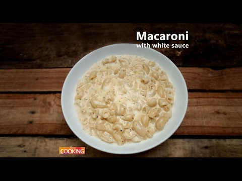Macaroni with White Sauce | Ventuno Home Cooking