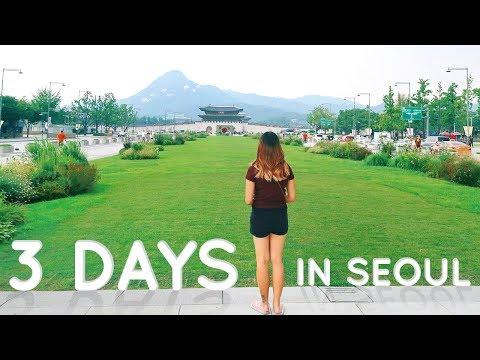 3 days in Seoul, South Korea - Goodbye Europe! | Travel Vlog Part 1/3