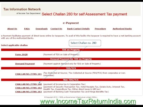 How to pay Self Assessment Tax - Hindi