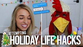 WEIRD HOLIDAY LIFE HACKS
