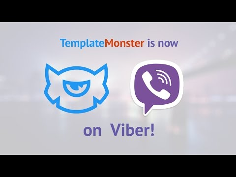 TemplateMonster's Now on Viber. Join Us!
