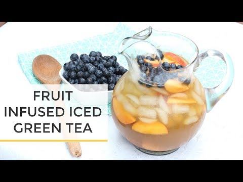 Fruit Infused Iced Green Tea Recipe