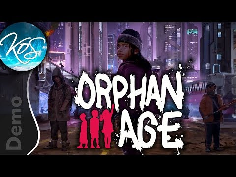 Orphan Age DEMO - Dystopian Adolescent Survival - Let's Play, Gameplay