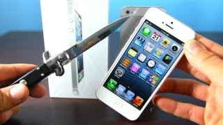 iPhone 5 Unboxing! Official NEW Apple 5G Unboxed
