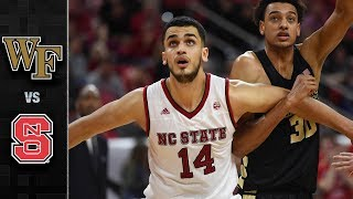 Wake Forest vs. NC State Basketball Highlights (2017-18)